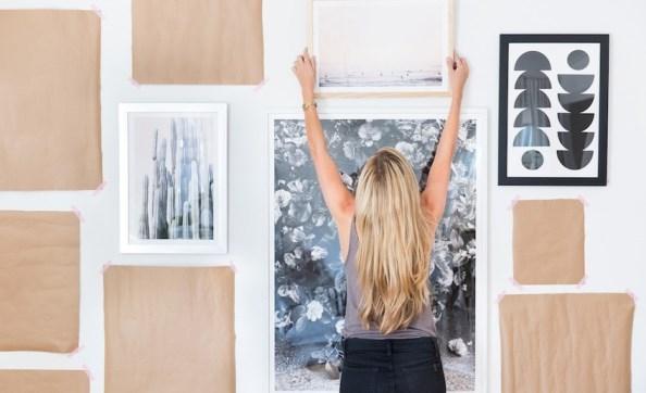 Как правильно вешать произведения искусства на стены и не допустить ошибок